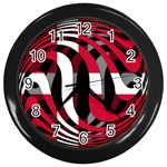 Denmark Wall Clock (Black)