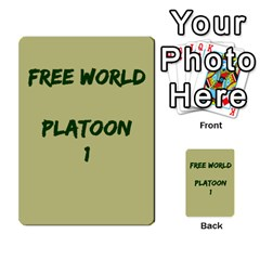 Cds   Free World By Agentbalzac   Multi Purpose Cards (rectangle)   826uvfjg2tu2   Www Artscow Com Front 1