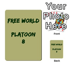 Cds   Free World By Agentbalzac   Multi Purpose Cards (rectangle)   826uvfjg2tu2   Www Artscow Com Front 8