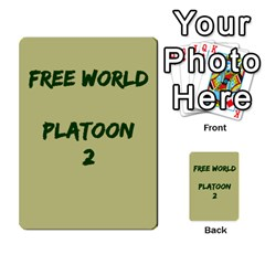 Cds   Free World By Agentbalzac   Multi Purpose Cards (rectangle)   826uvfjg2tu2   Www Artscow Com Front 2