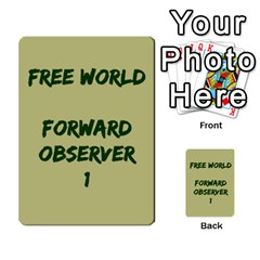 Cds   Free World By Agentbalzac   Multi Purpose Cards (rectangle)   826uvfjg2tu2   Www Artscow Com Front 29