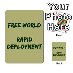 Cds   Free World By Agentbalzac   Multi Purpose Cards (rectangle)   826uvfjg2tu2   Www Artscow Com Front 33