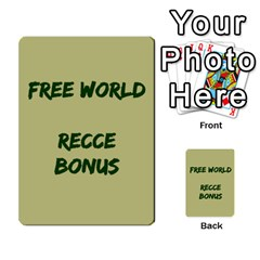 Cds   Free World By Agentbalzac   Multi Purpose Cards (rectangle)   826uvfjg2tu2   Www Artscow Com Front 34