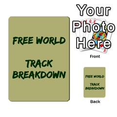 Cds   Free World By Agentbalzac   Multi Purpose Cards (rectangle)   826uvfjg2tu2   Www Artscow Com Front 43