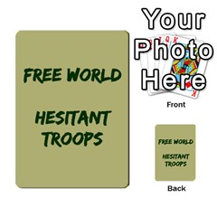 Cds   Free World By Agentbalzac   Multi Purpose Cards (rectangle)   826uvfjg2tu2   Www Artscow Com Front 48
