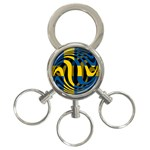 Sweden 3-Ring Key Chain