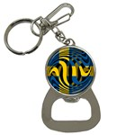 Sweden Bottle Opener Key Chain