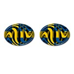 Sweden Cufflinks (Oval)