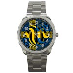 Sweden Sport Metal Watch