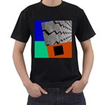 my house - Black T-Shirt