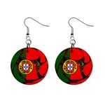 Portugal 1  Button Earrings