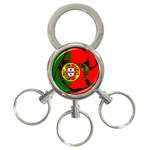 Portugal 3-Ring Key Chain