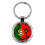 Portugal Key Chain (Round)