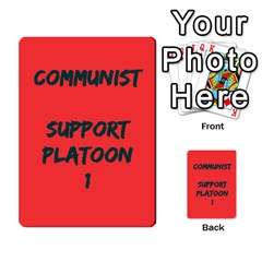 Cds   Communist By Agentbalzac   Multi Purpose Cards (rectangle)   898drcq6l9km   Www Artscow Com Frontback