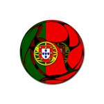 Portugal Rubber Round Coaster (4 pack)