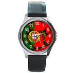 Portugal Round Metal Watch