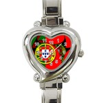 Portugal Heart Italian Charm Watch