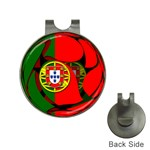 Portugal Golf Ball Marker Hat Clip