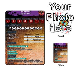 Helldorado By Bezy   Multi Purpose Cards (rectangle)   Kodhduu06dx5   Www Artscow Com Back 1