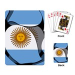 Argentina Playing Cards Single Design