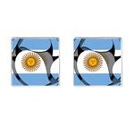 Argentina Cufflinks (Square)