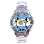 Argentina Stainless Steel Analogue Men's Watch
