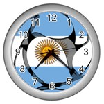 Argentina Wall Clock (Silver)