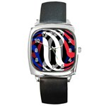 France Square Metal Watch