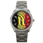 Belgium Sport Metal Watch