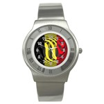 Belgium Stainless Steel Watch