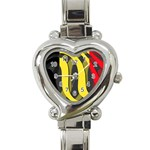 Belgium Heart Italian Charm Watch