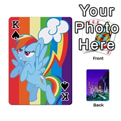 King Mlp 1 By Raymond Zhuang   Playing Cards 54 Designs   5hlbciumqjgt   Www Artscow Com Front - SpadeK