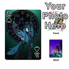 Ace Mlp 1 By Raymond Zhuang   Playing Cards 54 Designs   5hlbciumqjgt   Www Artscow Com Front - SpadeA