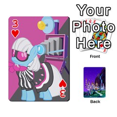 Mlp 1 By Raymond Zhuang   Playing Cards 54 Designs   5hlbciumqjgt   Www Artscow Com Front - Heart3