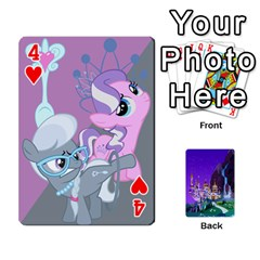 Mlp 1 By Raymond Zhuang   Playing Cards 54 Designs   5hlbciumqjgt   Www Artscow Com Front - Heart4