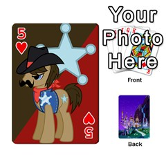 Mlp 1 By Raymond Zhuang   Playing Cards 54 Designs   5hlbciumqjgt   Www Artscow Com Front - Heart5
