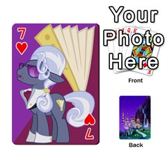 Mlp 1 By Raymond Zhuang   Playing Cards 54 Designs   5hlbciumqjgt   Www Artscow Com Front - Heart7