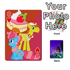 Mlp 1 By Raymond Zhuang   Playing Cards 54 Designs   5hlbciumqjgt   Www Artscow Com Front - Heart8