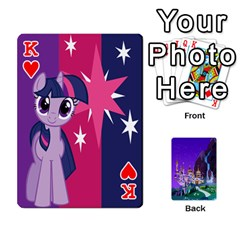 King Mlp 1 By Raymond Zhuang   Playing Cards 54 Designs   5hlbciumqjgt   Www Artscow Com Front - HeartK