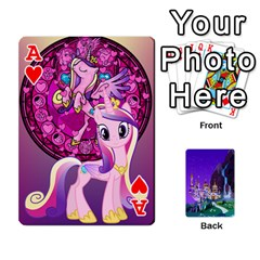 Ace Mlp 1 By Raymond Zhuang   Playing Cards 54 Designs   5hlbciumqjgt   Www Artscow Com Front - HeartA