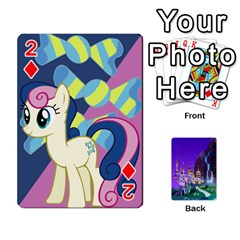 Mlp 1 By Raymond Zhuang   Playing Cards 54 Designs   5hlbciumqjgt   Www Artscow Com Front - Diamond2