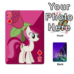 Mlp 1 By Raymond Zhuang   Playing Cards 54 Designs   5hlbciumqjgt   Www Artscow Com Front - Diamond5