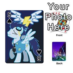Mlp 1 By Raymond Zhuang   Playing Cards 54 Designs   5hlbciumqjgt   Www Artscow Com Front - Spade5