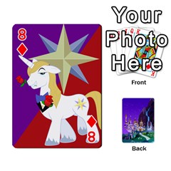Mlp 1 By Raymond Zhuang   Playing Cards 54 Designs   5hlbciumqjgt   Www Artscow Com Front - Diamond8
