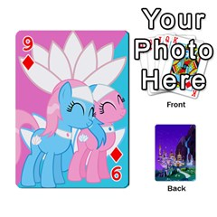 Mlp 1 By Raymond Zhuang   Playing Cards 54 Designs   5hlbciumqjgt   Www Artscow Com Front - Diamond9