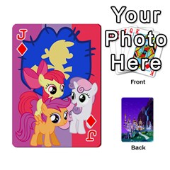 Jack Mlp 1 By Raymond Zhuang   Playing Cards 54 Designs   5hlbciumqjgt   Www Artscow Com Front - DiamondJ