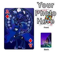 Ace Mlp 1 By Raymond Zhuang   Playing Cards 54 Designs   5hlbciumqjgt   Www Artscow Com Front - DiamondA