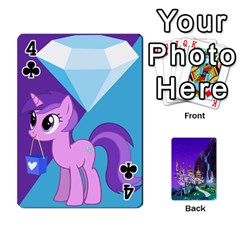 Mlp 1 By Raymond Zhuang   Playing Cards 54 Designs   5hlbciumqjgt   Www Artscow Com Front - Club4