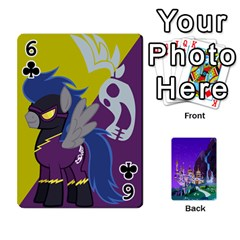 Mlp 1 By Raymond Zhuang   Playing Cards 54 Designs   5hlbciumqjgt   Www Artscow Com Front - Club6