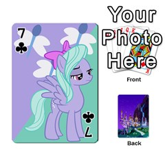 Mlp 1 By Raymond Zhuang   Playing Cards 54 Designs   5hlbciumqjgt   Www Artscow Com Front - Club7